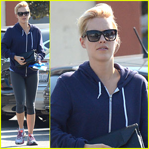 Claire Holt Hits The Gym Ahead of Kindred Foundation Fundraiser Next Week