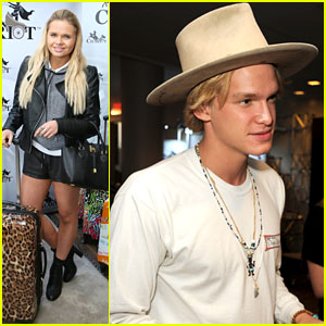 Cody Simpson Hits Oscar Style Lounge After Debuting 'Driftwood'