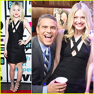 Dakota Fanning Avoids Answering Kristen Stewart Question - Watch Now!