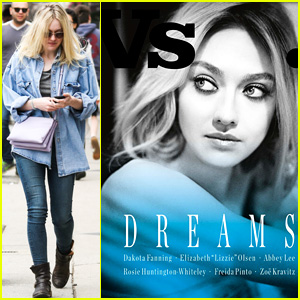 Dakota Fanning Shows Off Flawless Skin on Vs. Magazine 'Dreams' Cover