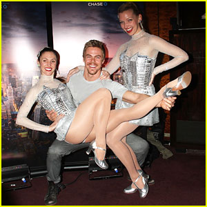 Derek Hough Dishes on Radio City's Spring Spectacular: 'We're Going To Make It Rain On Stage'