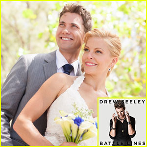 Drew Seeley Debuts New 'Battle Lines' Song; Talks Valentine's Day Plans With Wife Amy Paffrath (Exclusive)