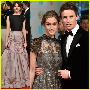 Eddie Redmayne & Felicity Jones Make Their Big BAFTAS 2015 Entrances!