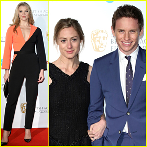 Eddie Redmayne Parties at Kensington Palace Before the BAFTAs!