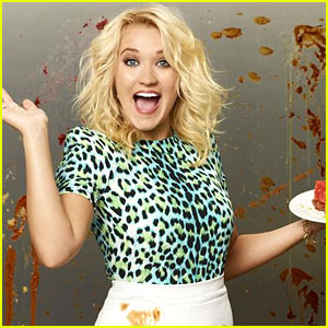 Emily Osment Makes A Big Mess In New 'Young & Hungry' Promo Pics