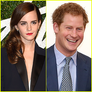 Emma Watson Is Not Dating Prince Harry