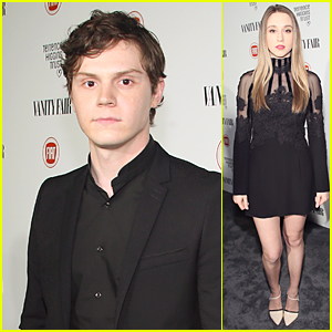 Evan Peters & Taissa Farmiga Bring American Horror Story to Vanity Fair Young Hollywood Celebration