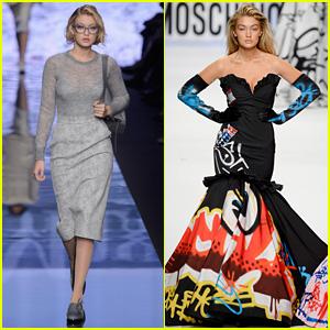Gigi Hadid is a Stunner at Milan Fashion Week!