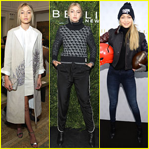 Gigi Hadid Shows Off Her Sporty Side During NYFW!