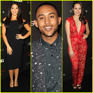 Gina Rodriguez Joins Tahj Mowry At Pre-Grammy Party Before Awards Tonight!