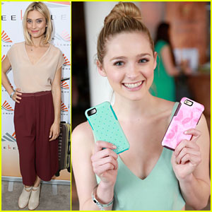 Greer & Spencer Grammer Get Gifted At Pre-Oscar Style Suite
