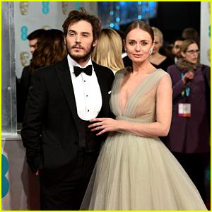 Sam Claflin & Wife Laura Haddock Are BAFTAs' Best Couple!