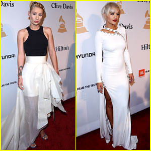 Iggy Azalea & Rita Ora Are A Couple of 'Black Widows' at Pre-Grammy Party