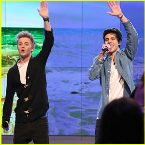 Jack & Jack Make Television Show Debut on 'The View' - See The Pics!