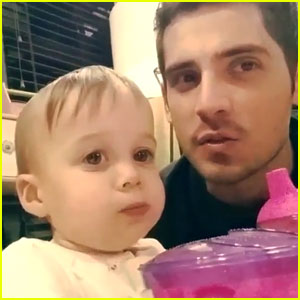 Jean-Luc Bilodeau Shares The Cutest 'Baby Daddy' Video with Kayleigh Harris - Watch Now!