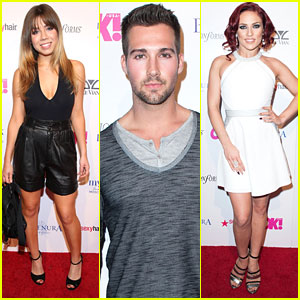 Jennette McCurdy & James Maslow Celebrate Academy Awards At Pre-Oscars Party