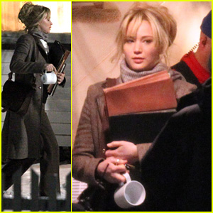Jennifer Lawrence Starts Filming 'Joy' with Director David O. Russell