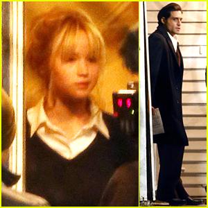 Jennifer Lawrence's 'Mockingjay' Co-Star Josh Hutcherson Did Not Ask Her For Oscars Advice
