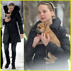 Jennifer Lawrence Stays in Boston During Oscars 2015 Weekend