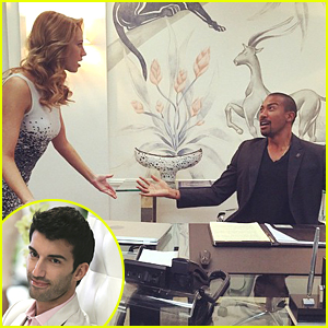 Justin Baldoni Makes Dreams Come True - Films Charles Michael Davis Running In Slow Motion