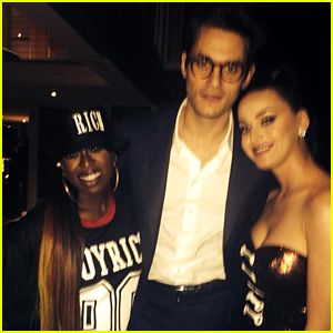 Katy Perry's Boyfriend John Mayer Supported Her at Super Bowl 2015!