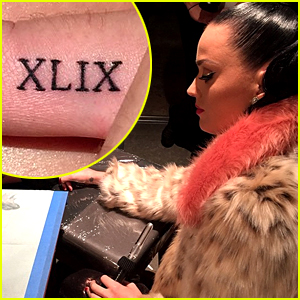 Katy Perry Ended Super Bowl Night with a New Tattoo!