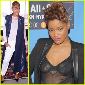 Watch Keke Palmer Sing the National Anthem at NBA All-Star Game! (Video)