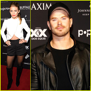 Kellan Lutz & AnnaLynne McCord Party with Maxim Ahead of Super Bowl 2015