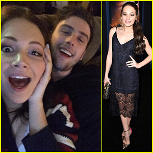 Kelli Berglund & Sterling Beaumon Make One Cute Super Bowl Couple!