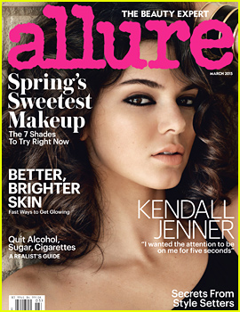 Kendall Jenner Talks About Confidence & Growing Up in 'Allure'