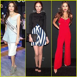 K. Lee Graham & Alyssa Campanella Show Off Royal Style at New York Fashion Week