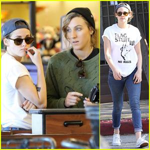 Kristen Stewart & Alicia Cargile Team Up for Shopping Trip