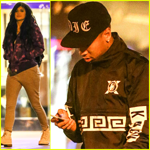 Kylie Jenner Catches a Flick With Rumored Boyfriend Tyga