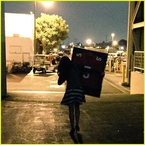 Lea Michele Takes Home Cory Monteith's Football Jersey After Wrapping 'Glee'