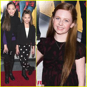 Maddie Ziegler Catches 'The DUFF' Premiere with Sister Mackenzie!