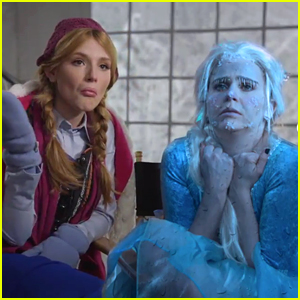 Bella Thorne is Anna in 'Frozen' Spoof - Watch Now!