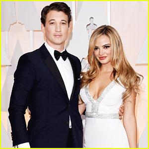 Miles Teller & Keleigh Sperry Couple Up For Oscars 2015