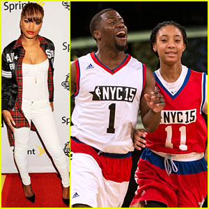 Mo'ne Davis Says Kevin Hart Deserved MVP at All-Star Celeb Game After Schooling Him On The Court