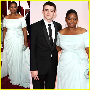 Charlie Rowe Attends the Oscars With 'Red Band Society' Co-Star Octavia Spencer