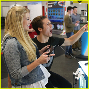 Leo Howard Is Olivia Holt's Biggest Cheerleader at Dylan Riley Snyder's Birthday Party