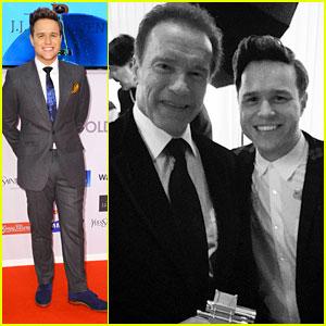 Olly Murs Suits Up For Goldene Kamera Awards 2015 After RDMA Nomination