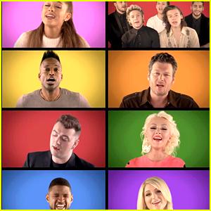 One Direction & Ariana Grande Are Fallon's 'Champions'! (Video)