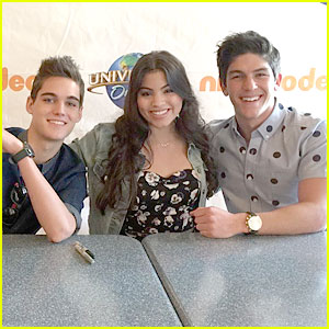 'Every Witch Way' Renewed For Season Four; Watch Paola Andino, Nick Merico & Rahart Adams React! (JJJ Exclusive)