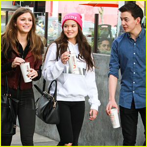 Paris Berelc Lunches With Piper Curda's Bro Major at Sharky's
