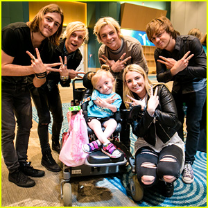 R5 Performs for Terminally Ill Children at Disney