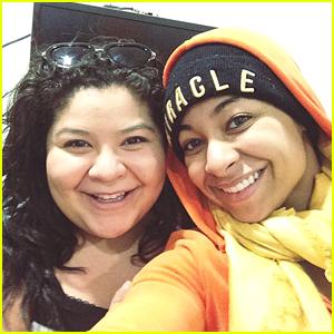 Raini Rodriguez Gets Starstruck Over Raven Symone - See The Cute Selfie!