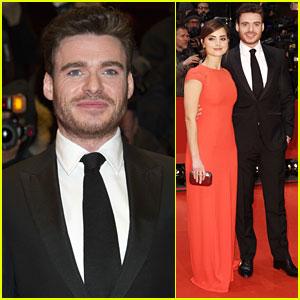 Richard Madden Brings His Own Cinderella Jenna Coleman To Berlin Premiere