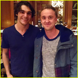 RJ Mitte Runs Into Tom Felton at Salt Lake Comic Con!