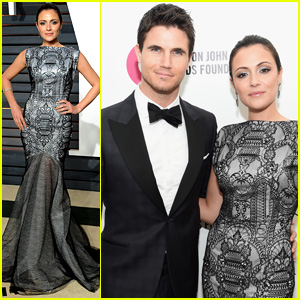 Robbie Amell & Italia Ricci Make the Perfect Post-Oscars Party Couple!
