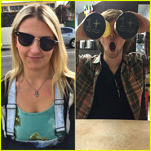 Rydel Lynch & Ellington Ratliff Are Still On Their Road Trip - See All The Pics!